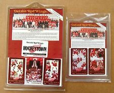 Red Wings 1996-1997 Stanley Cup Russian Five and Grindline 6 phone card set
