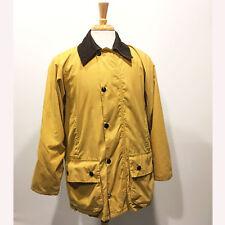 English Country Classics | Men's Hi Diver Wax Cotton Barn Jacket – Gold Size 36/