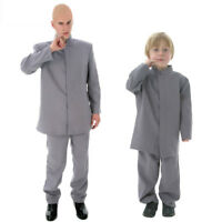 Dr. Evil Austin Powers 1960S Adult Mens Halloween Deluxe Cosplay Costume