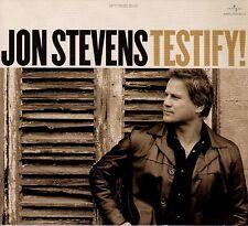 Jon Stevens-Testify!-CD 2011 Original Universal issue-Digipak-Noiseworks  278703