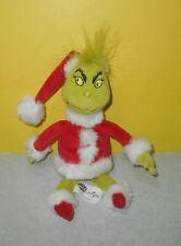 "2013 The Grinch Who Stole Christmas Bean Plush 10"" Universal Studios Theme Park"