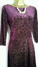 Marks and Spencer Women's 3/4 Sleeve Paisley Dresses