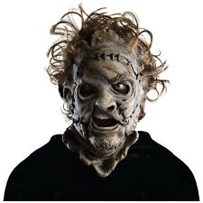 Leatherface 3/4 Mask Adult Costume Mens Texas Chainsaw Massacre Halloween