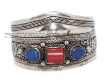 Coral Bracelet Lapis Bracelet Cuff Bracelet Tribal Bracelet Boho Bracelet