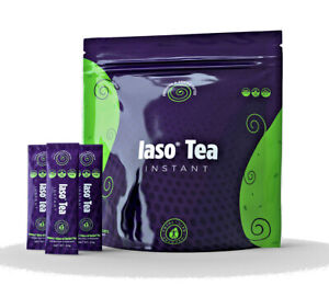 New IASO Instant Herbal Detox Tea - 25 Sachets - 1 Bag - Total Life Changes TLC