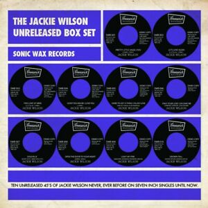 JACKIE WILSON JACKIE WILSON UNISSUED 45s BOX SET 10X RECORDS Soul Northern Mo...