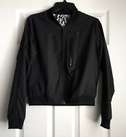 Nike Bonded Woven Bomber Reversible Dry-fit Track Jacket (size M)