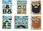 Fake Hipster Beards / Moustache Stick On Self Adhesive Novelty Joke Secret Santa