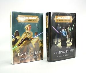 Stars Wars The High Republic Light of the Jedi, The Rising Storm Signed Numbered