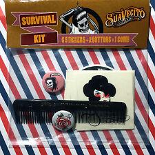 SUAVECITO Pomade - Survival Kit #1 | RockAbilly | Tattoo | HotRod | Barber