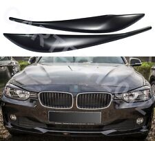 Fits BMW F30 F31 PreLift Headlights EyebrowS Eyelids ABS PLASTIC