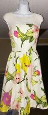 Ted Baker floral dress size 4 US Ted1