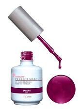 LeChat Perfect Match Gel Color Polish Sangria - PMS12- 0.5oz (Duo Kit)