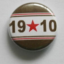 1910 BUTTON BADGE Sankt/St. Pauli Punk Antifa derby vincitore MARRONE PIN BIANCO