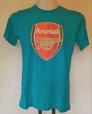 ARSENAL TURQUOISE FAN CREST TEE SHIRT BY PUMA ADULTS SIZE EXTRA SMALL BRAND NEW