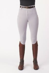 Just Togs Equinox Rider Tights - Silver only £34.99
