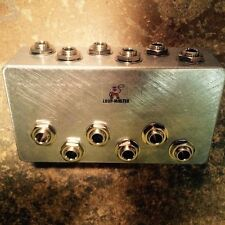 Loop Master Pedals 6-Way Pedalboard Patch Bay Patcher IN STOCK!