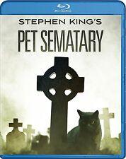 PET SEMATARY (Stephen King) -  Blu Ray - Sealed Region free