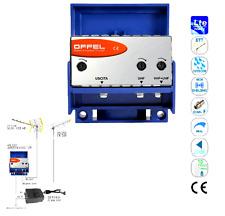 OFFEL 28-038 CENTRALINO PER ESTERNO 12V larga banda serie AM 20 V+U-U