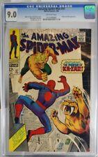 Amazing Spider-Man #57 - CGC 9.0 - Ka-Zar and Zabu appearance.