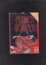 VINTAGE CRIME DIGEST.GASTON LEROUX.MURDER IN THE BEDROOM.RARE!