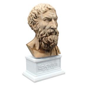 Epictetus 3D Printed Bust Famous Stoic Greek Philosopher Art FREE SHIP