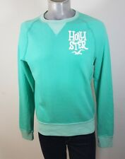 Hollister green sweatshirt medium New