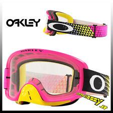 Maschera Oakley O-frame 2.0 MX dissolve Pink Yellow Lente Chiara