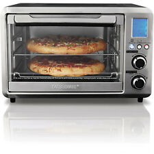 Digital Toaster Oven 25L Large Convection Cooking Kitchen 10 Function Rotisserie