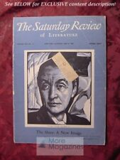 Saturday Review July 6 1946 GEORGIA O'KEEFE H. A. OVERSTREET