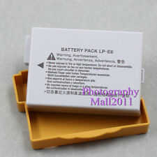 Replacement For Canon LP-E8 Battery For Canon EOS Rebel T2i T3i T4i 550D 600D X5