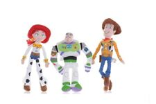 "NEW OFFICIAL 8"" TOY STORY PLUSH SOFT TOYS BUZZ LIGHTYEAR WOODY SOFT TOY"