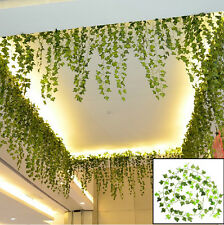 8.2feet Green Artificial Hanging Ivy Leaves Garland Plants Vine Flowers Home