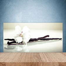Crédence de cuisine en verre Panneau Paroi 100x50 Floral Fleur