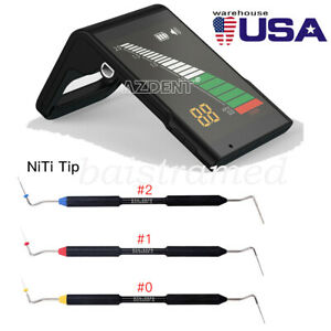 Dental Electronic Endo Root Canal Apex Locator / Buchanan Hand Plugger Tip