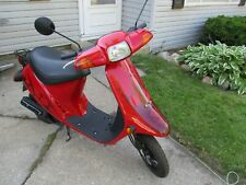 1989 Honda Elite E 49cc scooter completely restored to new condition