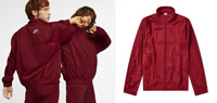 $250 new NIKE x MARTINE ROSE Track Jacket Team Red sz M football soccer gym top