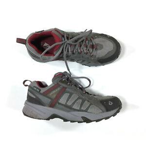 Vasque GoreTex Waterproof Hiking Shoes Womens Size 7.5 Gray 7579