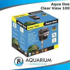 Aqua One ClearView 100 Hang On Filter - Aquarium Fish Tank 180L/H Clear View
