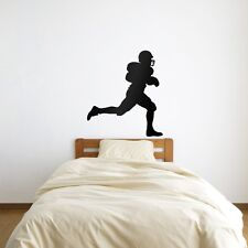 American Football Player Vinyl Wall Art Decal for Home Decor / Interior Desig...