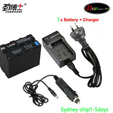 ^_^ AU-ship 1 x Battery for Sony NP-F970 NP-F770 CCD Camcorder LED Vedio Light