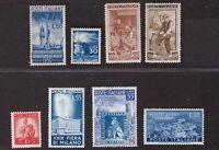 Italia Repubblica 1948/1951, selezione valori primo periodo nuovi    -BQ24