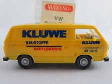 """Wiking 29120 VW T3 Transporter (1979) """"KLUWE Baustoffe"""" in gelb 1:87/H0 NEU/OVP"""