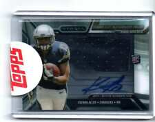 KEENAN ALLEN  AUTOGRAPH PATCH RC 2013 TOPPS STRATA CHARGERS
