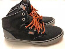 eae73fef9137e3 Vans Mens Black Gray and Orange size 9 MTE Mountain Boot Sneaker Hightop