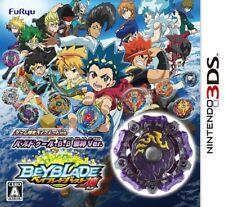 NEW Nintendo 3DS BEYBLADE BURST GOD w/Limited Balduur.B.B evil spirit Ver JP FS