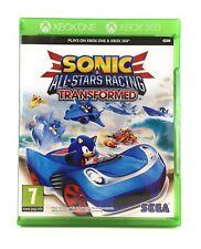 Sonic & All Stars Racing Transformed X-BOX ONE + 360 Allstars Videospiel Game