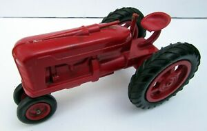 Hard Plastic Vintage  Row Crop Tractor, larger scale