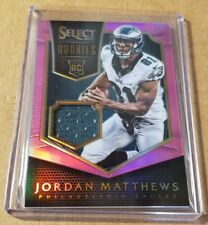 2014 Panini Select Football Pink Prizm Rookie Patch Jordan Matthews 167/199