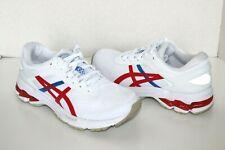 Asics Women's Gel-Kayano 26 Retro Tokyo Running Shoes, US 7.5 White/Classic Red